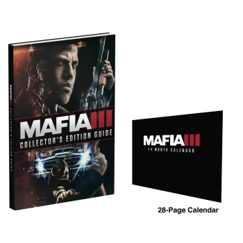 Mafia 3 III, Engl. Lösungsbuch / Collectors Edition Guide