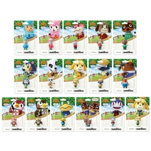 Nintendo amiibo Animal Crossing Kollektion