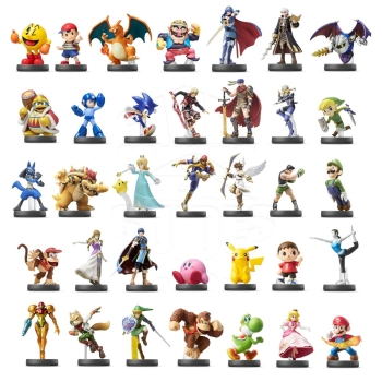 Nintendo amiibo Super Smash Kollektion Figuren 1-35