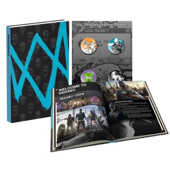 Watch Dogs 2, Engl. Lösungsbuch / Collectors Edition Guide
