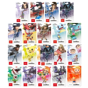 Nintendo amiibo Super Smash Kollektion Figuren 36-84