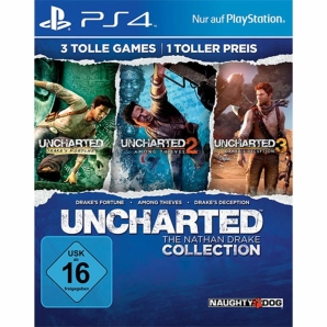 Uncharted - The Nathan Drake Collection, Sony PS4
