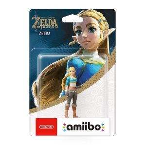 Nintendo amiibo The Legend of Zelda Figur ZELDA (Breath...