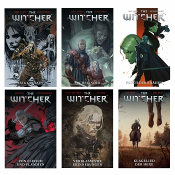 The Witcher Comic - Reihe Band 1 2 3 4
