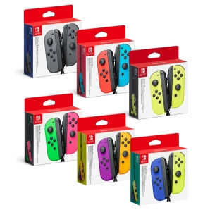 Nintendo Switch Joy-Con 2er-Set Grau, Rot/Blau, Gelb,...