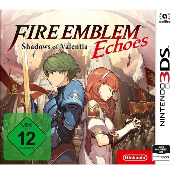 Fire Emblem Echoes: Shadows of Valentia / amiibo Alm und Celica, 3DS