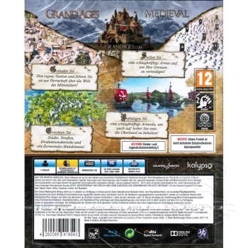 Grand Ages Medieval Limited Day One Edition, Sony PS4
