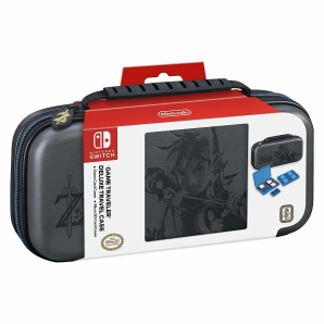 BigBen Nintendo Switch Zelda Tasche Travel Case NNS44 Grau