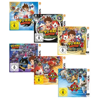YO-KAI Watch / YO-KAI Watch 2 / Blasters / YO-KAI Watch 3, 3DS