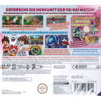 YO-KAI Watch 2 Knochige Gespenster inkl. Medaille, 3DS