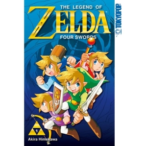 Legend of Zelda Manga, Four Swords, Band 1
