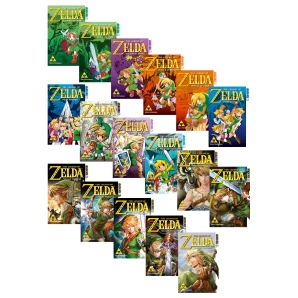 The Legend of Zelda Manga 1 - 15 komplett