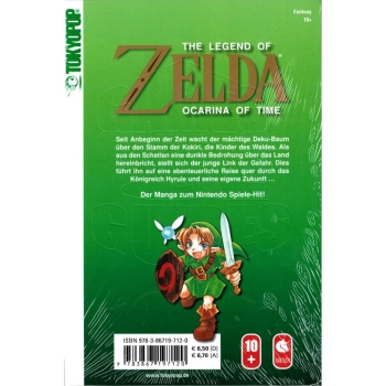 The Legend of Zelda Manga Ocarina of Time, Band 1+2