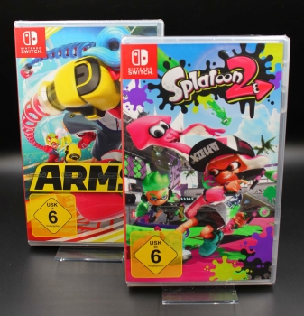 Arms + Splatoon 2, Nintendo Switch