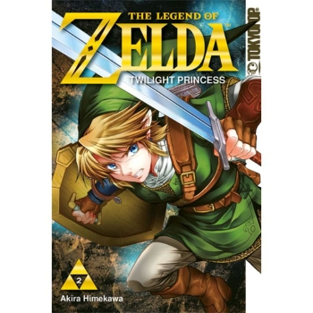 Legend of Zelda Manga, Twilight Princess, Band 2