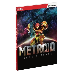 Metroid - Samus Returns, Engl. Lösungsbuch / Official Guide