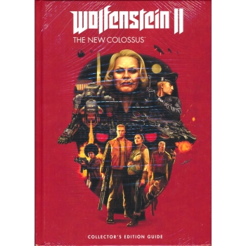 Wolfenstein II - The New Colossus, Engl. Lösungsbuch / Collectors Guide