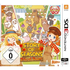 Story of Seasons: Trio of Towns, 3DS