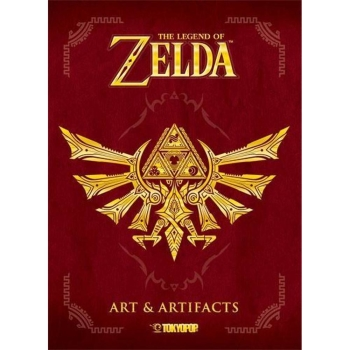 The Legend of Zelda: Art & Artifacts, Dt. Artbook