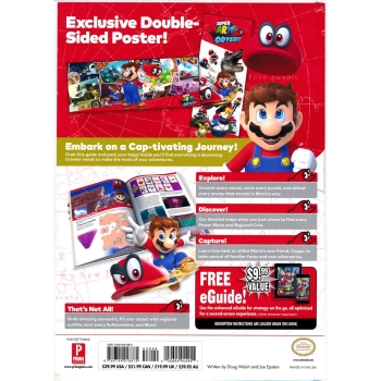 Super Mario Odyssey, Engl. Lösungsbuch / Collectors Guide