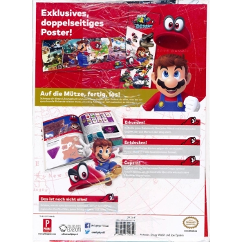 Super Mario Odyssey, offiz. Dt. Lösungsbuch Collectors Edition