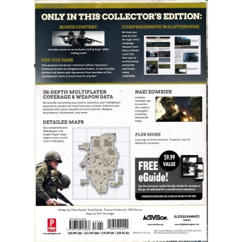 Call of Duty 14 - WWII, Engl. Lösungsbuch / Collectors Edition Guide