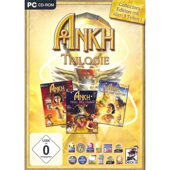 Ankh Trilogie Collectors Edition, PC