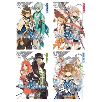 Tales of Zestiria Manga The Time of Guidance Band 1-4 komplett