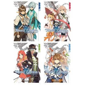 Tales of Zestiria Manga The Time of Guidance Band 1-4...