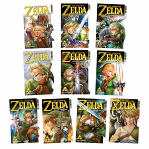The Legend of Zelda Manga Twilight Princess, Band 1, 2, 3...