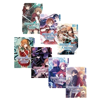 Sword Art Online - Progressive Manga Band 1-4