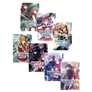 Sword Art Online - Progressive Manga Band 1-7