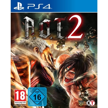 AoT 2 (based on Attack on Titan), Sony PS4
