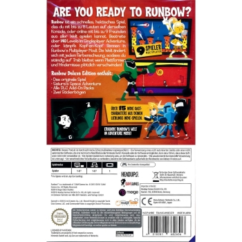 Runbow Deluxe Edition, Switch