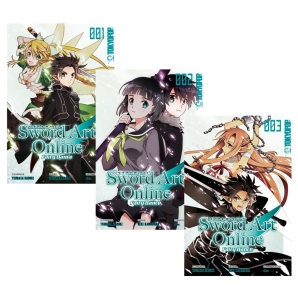 Sword Art Online - Fairy Dance Manga 1-3