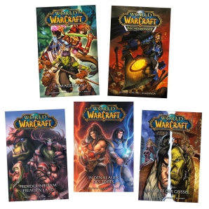 World of Warcraft Hardcover Comic Band 1-5