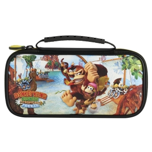 BigBen Nintendo Switch Donkey Kong Tropcial Freeze Tasche Travel Case NNS52A