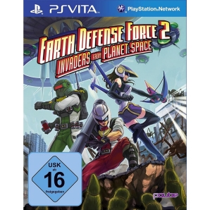 Earth Defense Force 2 - Invaders from Planet Space, PSV