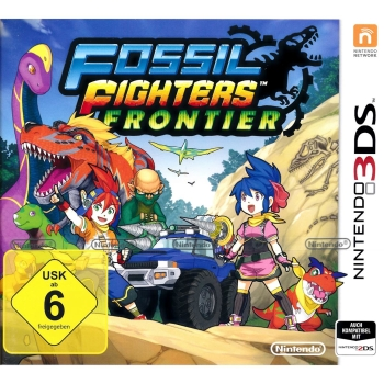 Fossil Fighters Frontier, 3DS