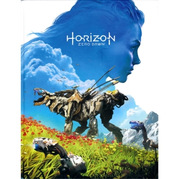 Horizon Zero Dawn, Engl. Lösungsbuch / Collectors Guide