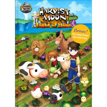 Harvest Moon: A Light of Hope, Engl. Lösungsbuch / Collectors Guide