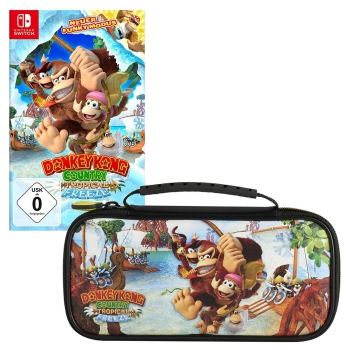 Donkey Kong Country: Tropical Freeze Nintendo Switch + Tasche Motiv A