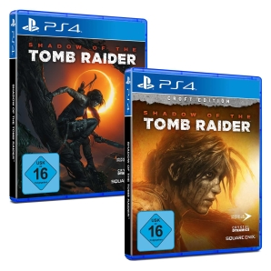 Shadow of the Tomb Raider Standard/Croft-Edition, PS4