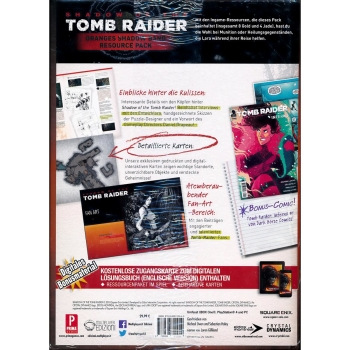 Shadow Of The Tomb Raider Dt Lösungsbuch Collectors Ed Games