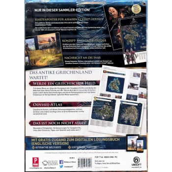 Assassins Creed Odyssey, offiz. Dt. Lösungsbuch Collectors Edition