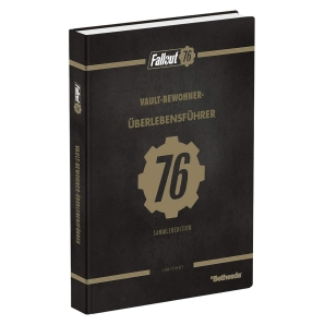 Fallout 76, offiz. Dt. Lösungsbuch Collectors Edition