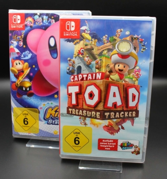 Captain Toad: Treasure Tracker + Kirby Star Allies, Switch